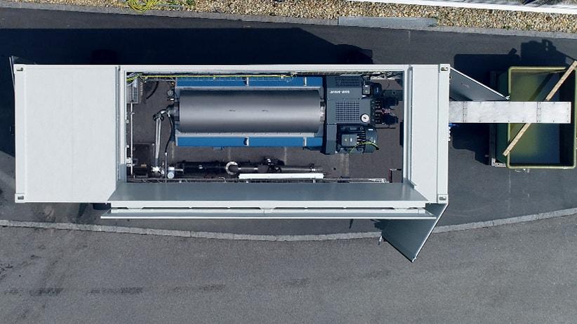 Drenaggio dei fanghi in container mobili: le nostre soluzioni in container per un drenaggio facile